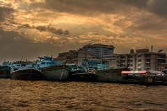 Sunset at Dubai Creek