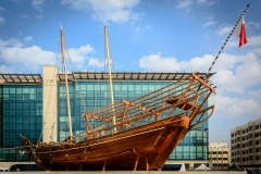 Dhow Display at Dubai Museum