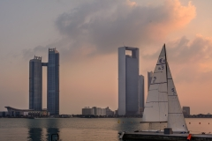 Abu Dhabi seen from the Marina
