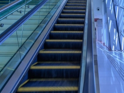 Escalator at JLT Metro Staion